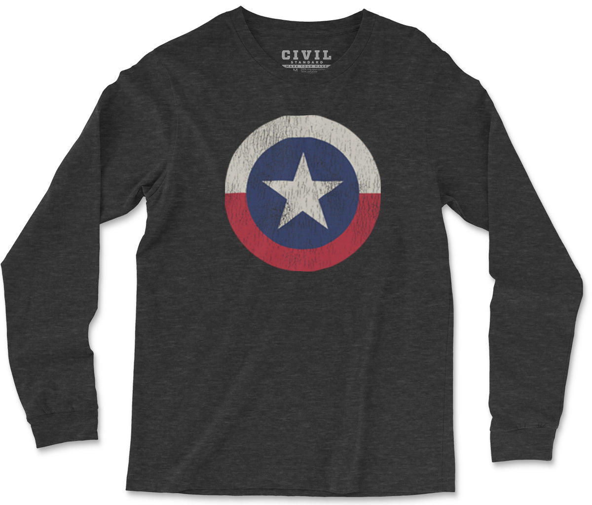 vintage texas state flag t-shirt