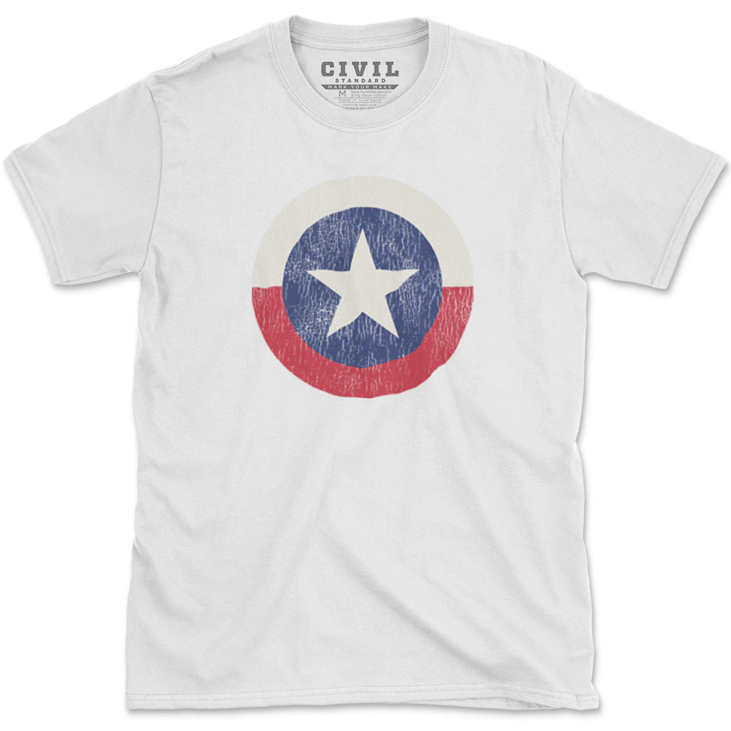 vintage texas state lone star flag t-shirt