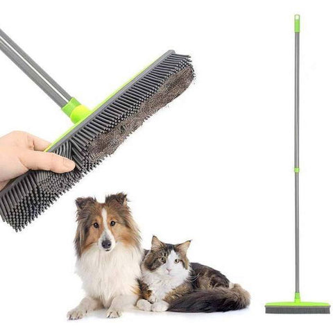 Rubber Broom Pet Hair Removal Device