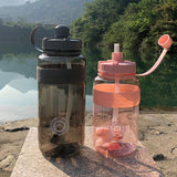 Outdoor Fitness Sports Bottle Kettle Large Capacity