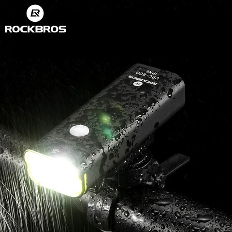 ROCKBROS Bicycle USB Rechargeable Light