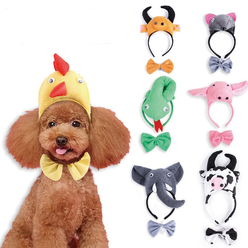 So your dog won't wear a costume ? Try one of these great Halloween headgear instead. - AllProDog