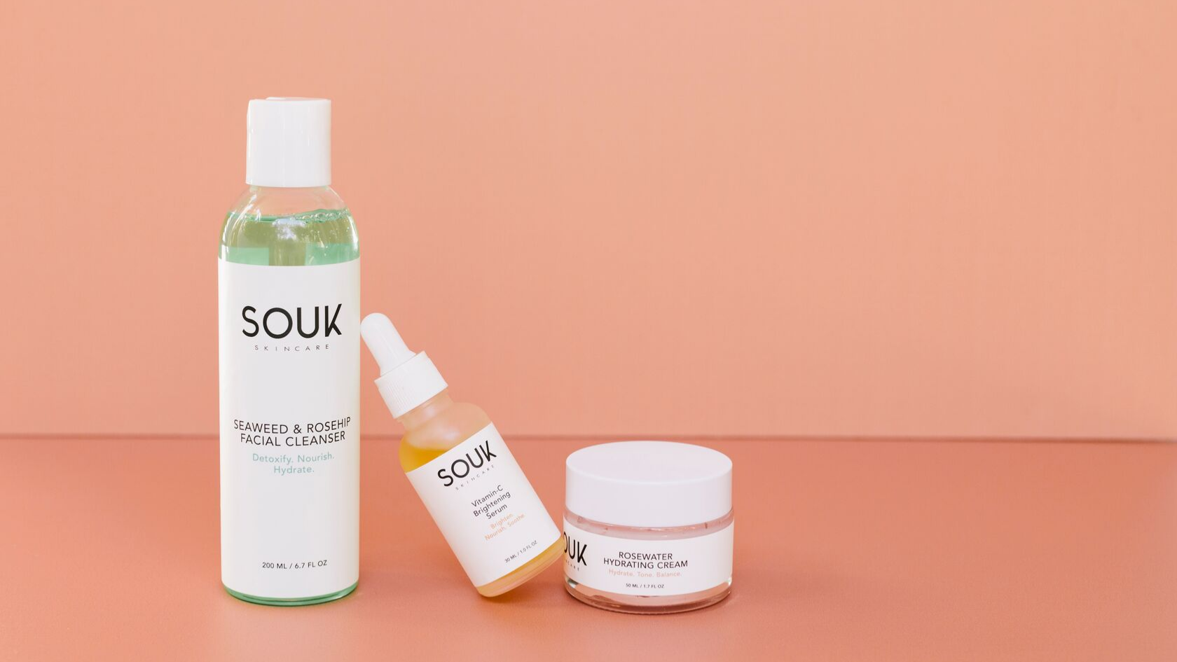 Only Have 5 Minutes in the Morning? These Products are a Must! by SOUK Skincare