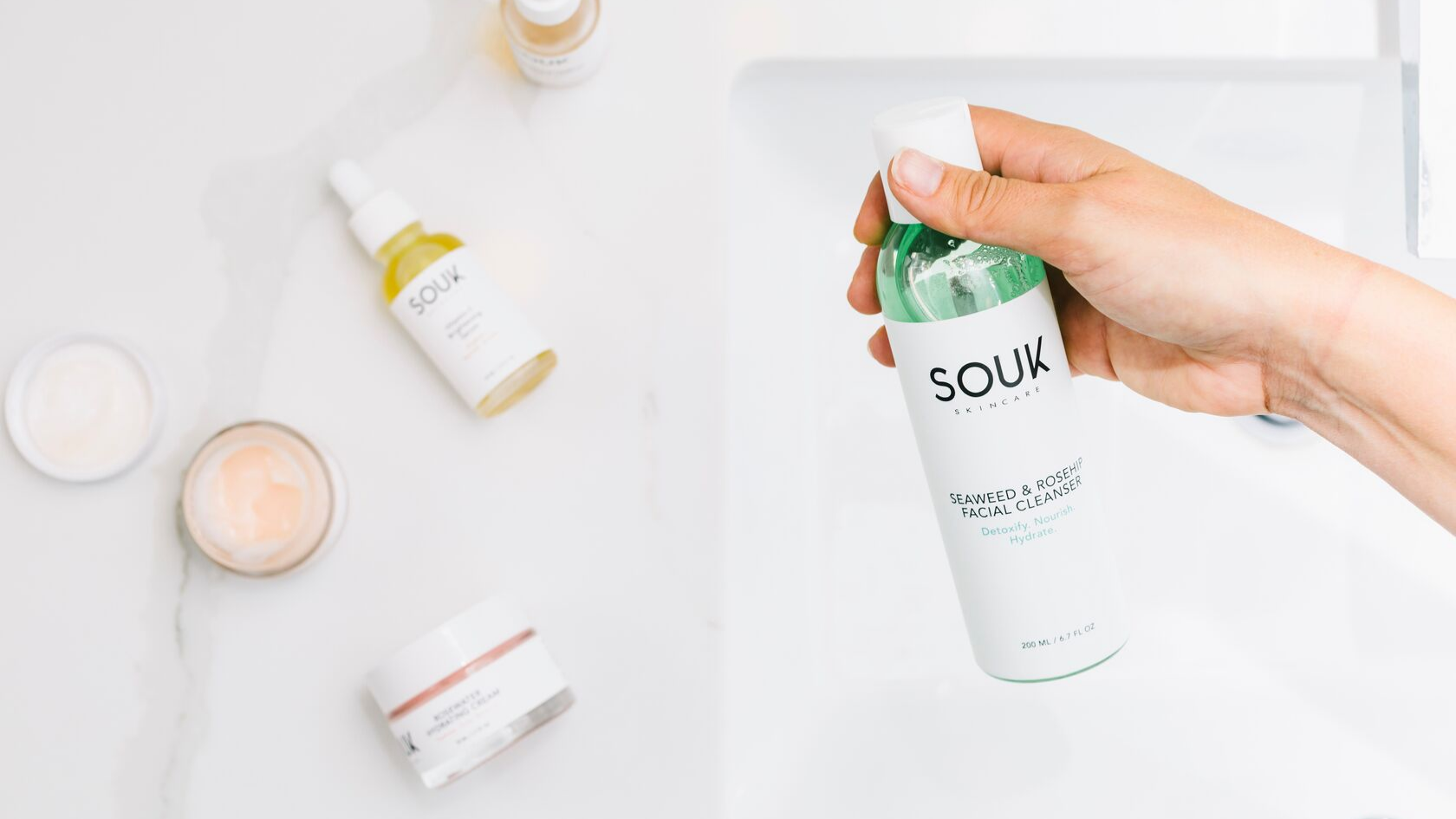 "Are you ""over-cleansing"" your skin? by SOUK Skincare"