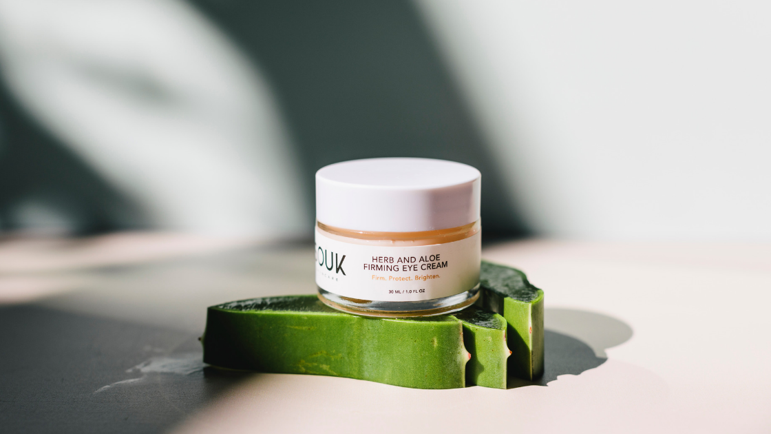 Double-Duty Beauty: Introducing the Herb & Aloe Firming Eye Cream by SOUK Skincare