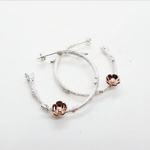 Twig & Blossom Genere hoops