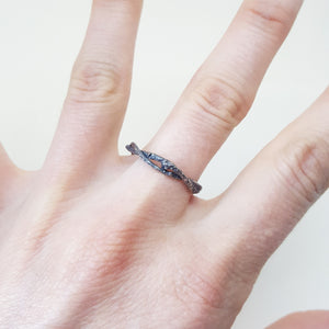 Arbor Twisted Twig ring