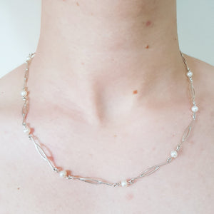 Gumnut & Pearl Pearl necklace