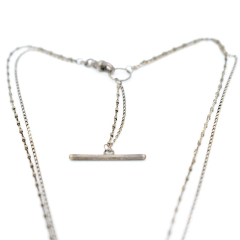 Jenny Sheriff Silver Chain Necklace