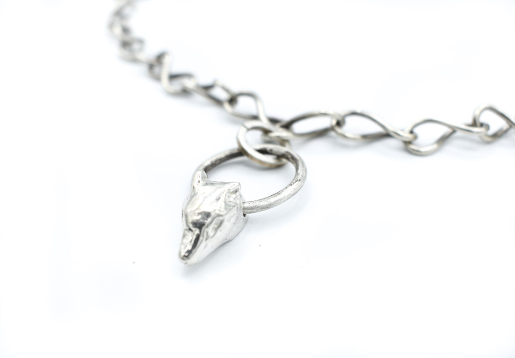 Cara Croninger Silver Hand Made Chain Necklace