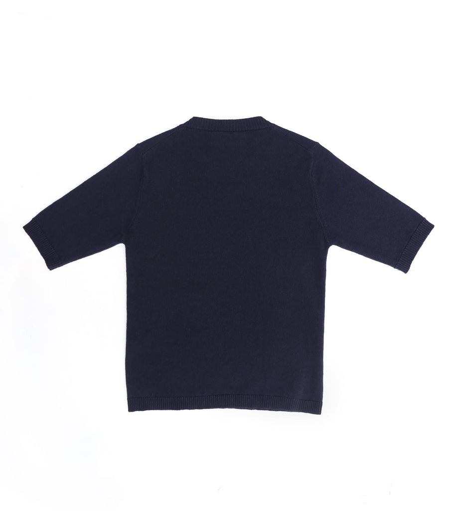 1 Ply Short Sleeve Cashmere Pullover