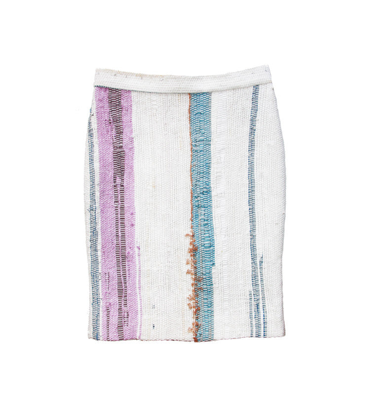 SOLD OUT - One of a kind Hand Woven Skirt