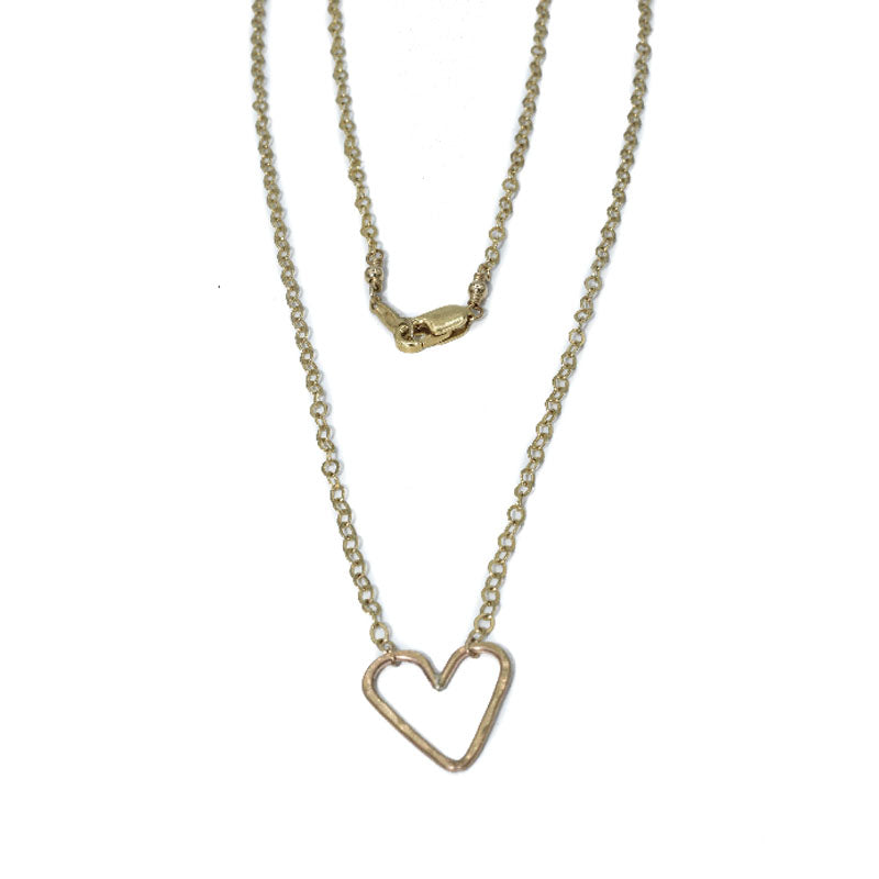 Jenny Sheriff Gold Plated Lovi Necklace