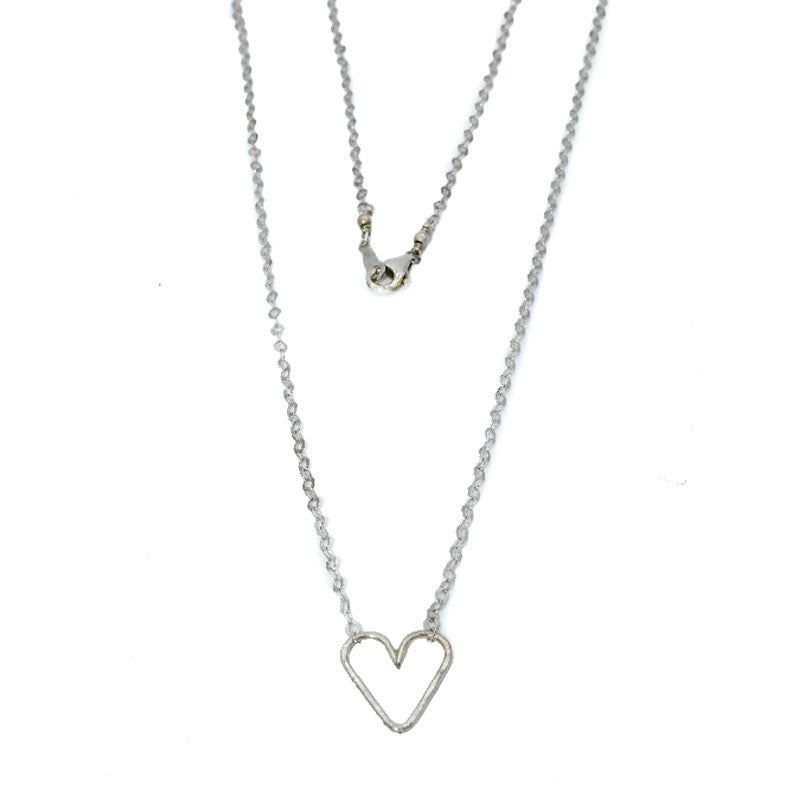 Jenny Sheriff Silver Lovi Necklace
