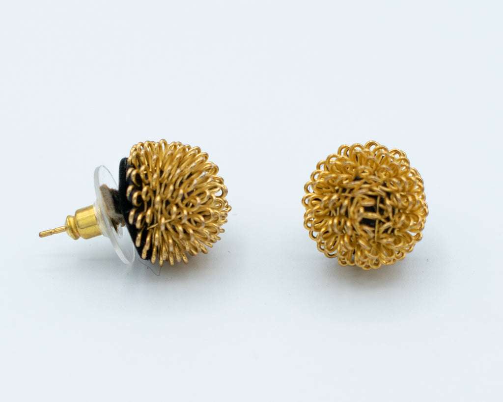 Roberto Di Castro Pom Pom Earrings