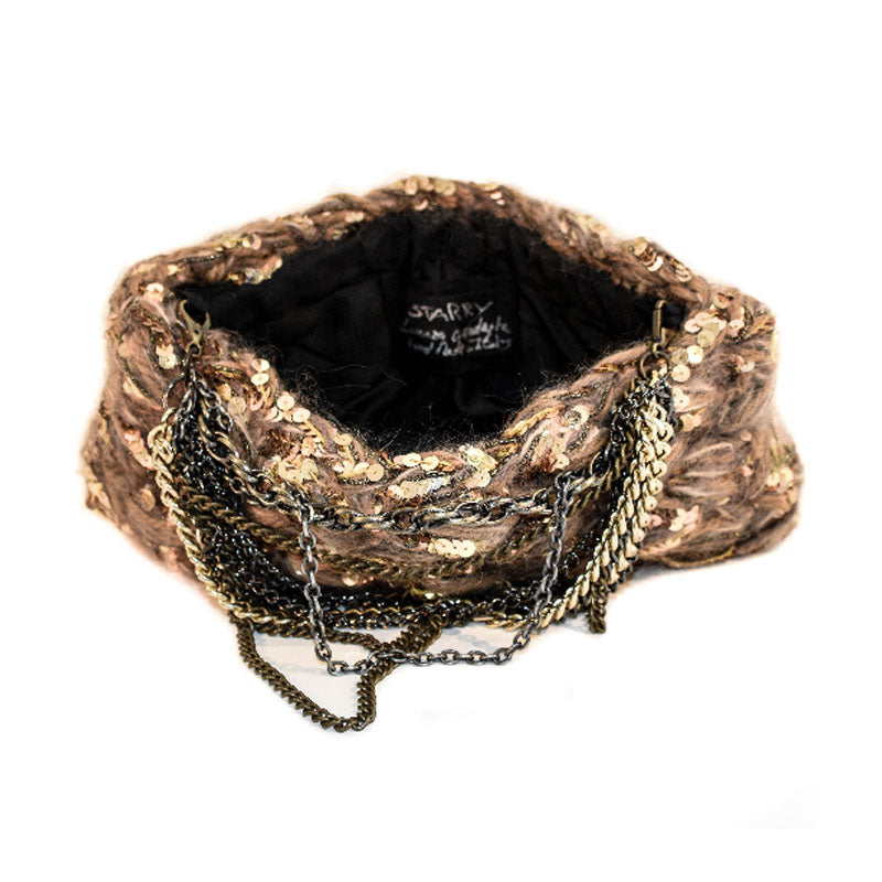 Lorenza Gandaglia Starry Rock Chain Hand Crochet Bag