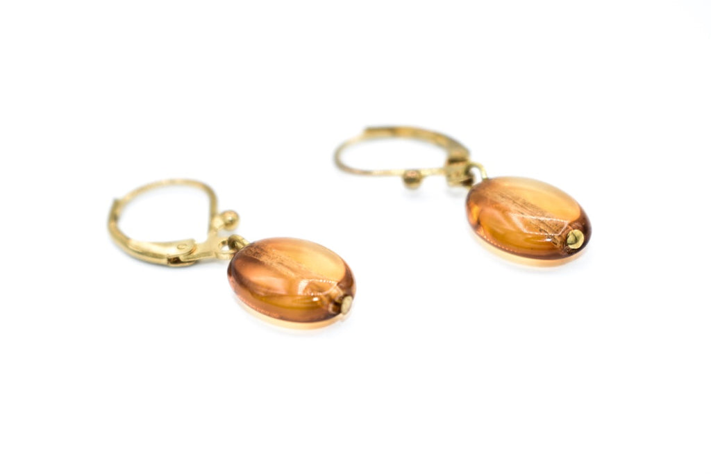 Roberto Di Castro Glass Drop Earrings
