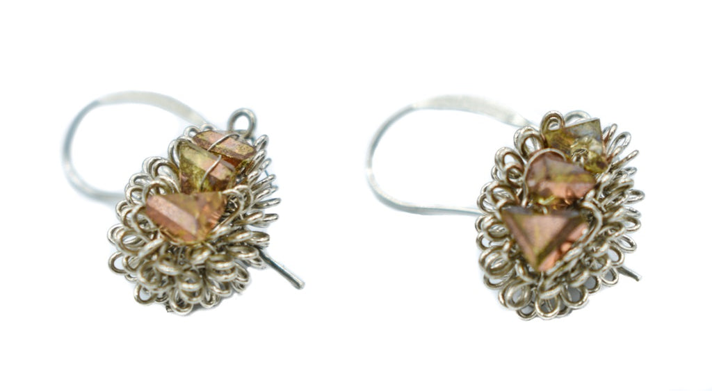Roberto Di Castro Crystal Earrings