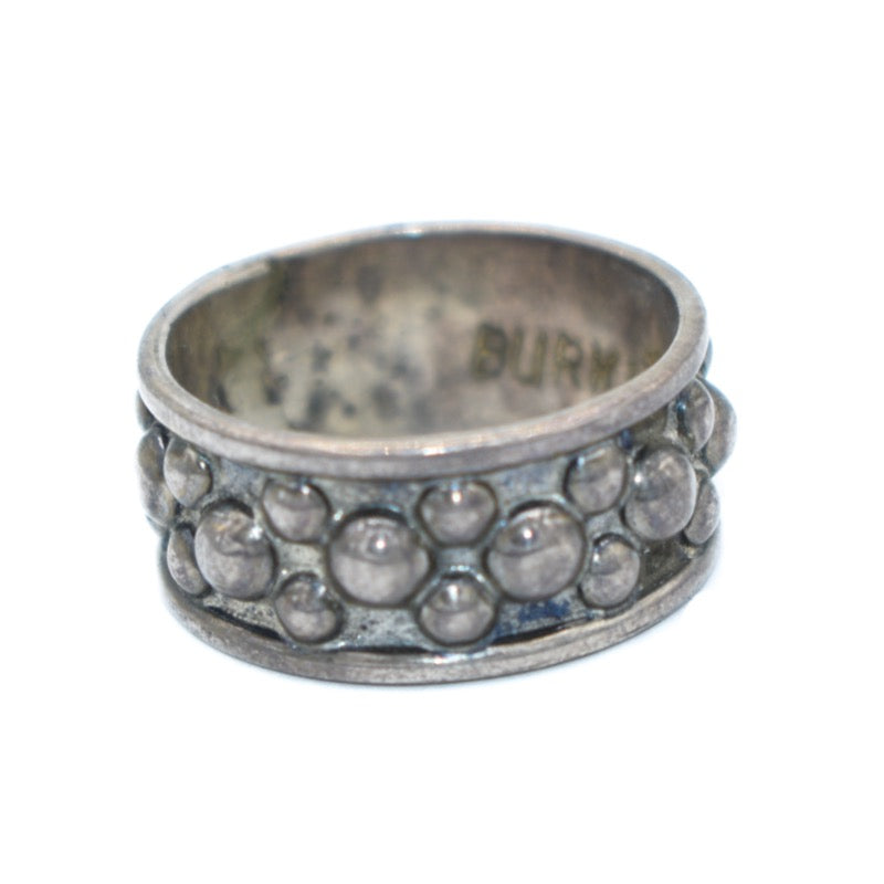 Burkindy Silver Bubble Ring