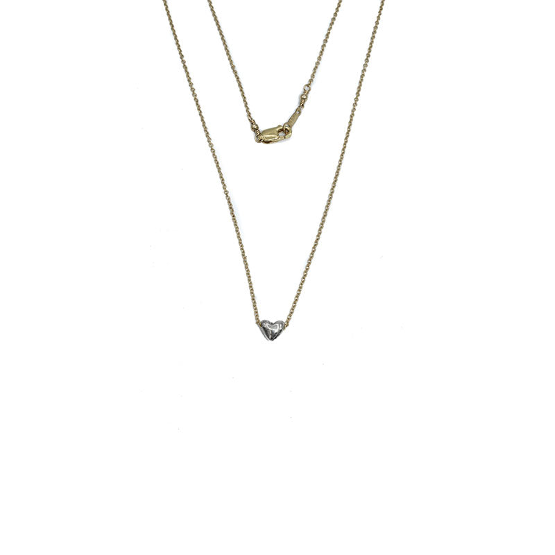 Jenny Sheriff Gold Plated and Silver Mini Crush Necklace