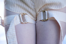 Load image into Gallery viewer, Miette harness cuff gold plated brass details