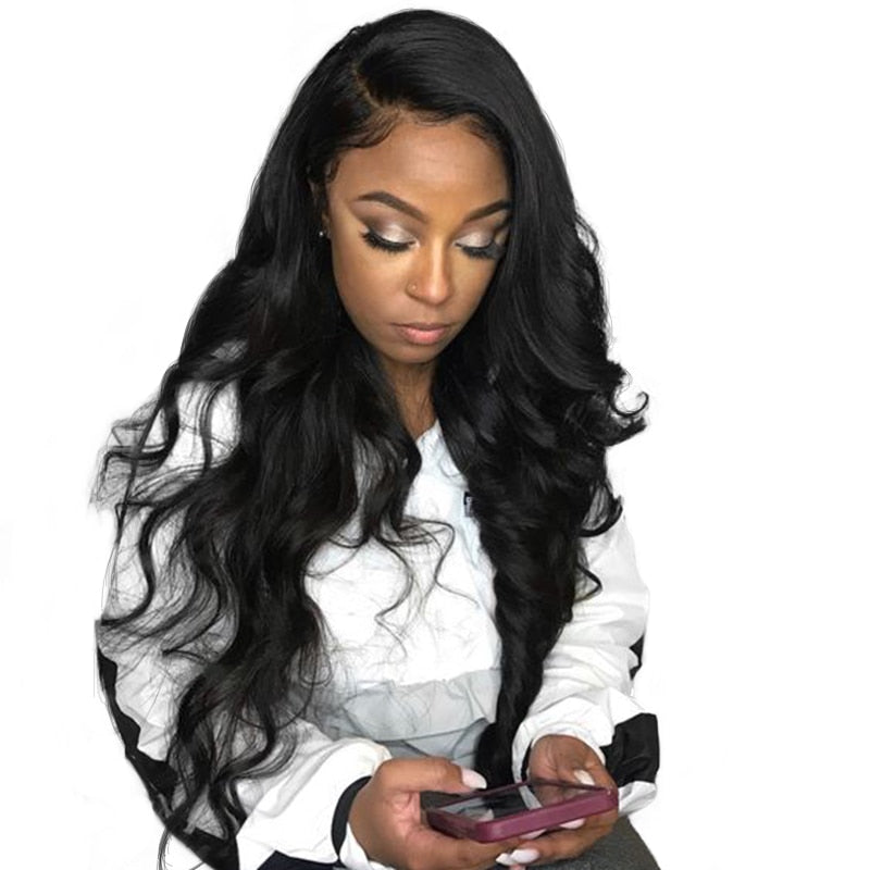 Allrun Malaysia Ocean Wave Human Hair Wigs With Adjustable Bangs Human Hair Wigs Non Remy Hair Short Wigs Full Machine Natural Lace Wigs Human Hair Lace Wigs