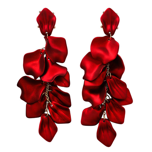 Scarlet Drop Earrings