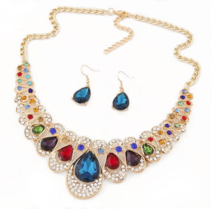 Angie Statement Necklace Set