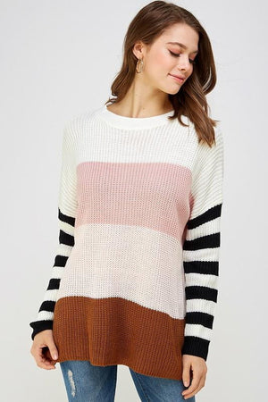 Earned Stripes Sweater