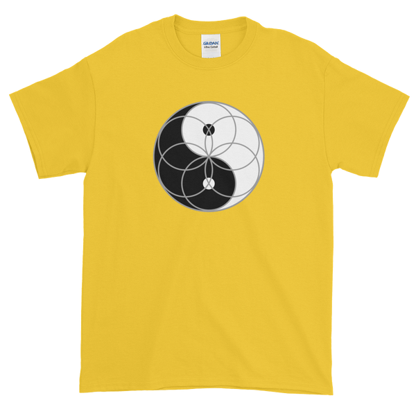 Yin Yang Seed of Life T-Shirt (counter-clockwise)