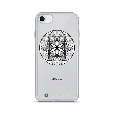 Musical Seed of Life iPhone Case