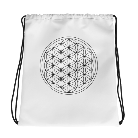 Flower of Life Drawstring bag