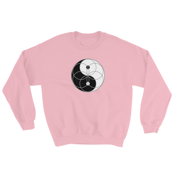 Yin Yang Seed of life Sweatshirt (counter clockwise)