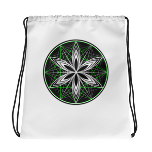 Musical Sphere Seed Drawstring bag