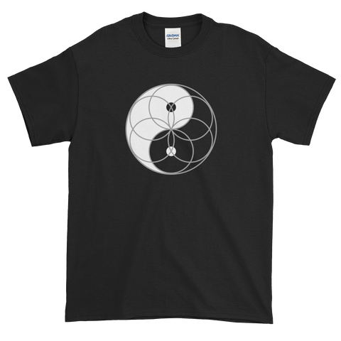 Yin Yang Seed of Life T-Shirt (clockwise spin)