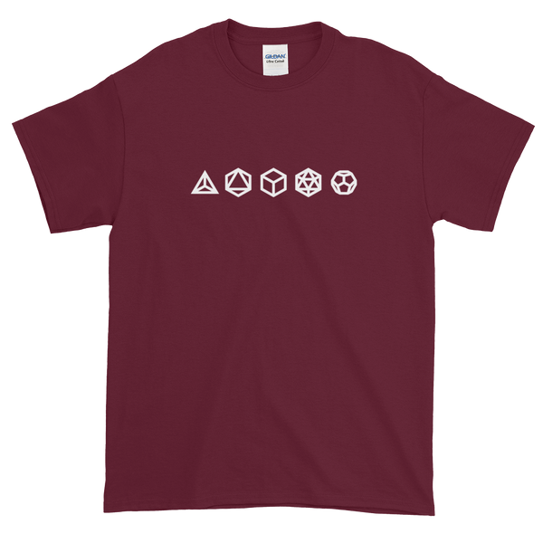Platonic Solids T-Shirt