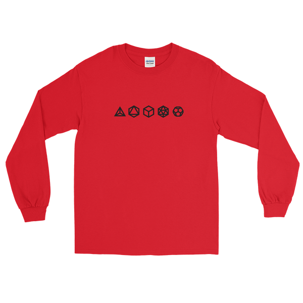 Platonic Solids Long Sleeve