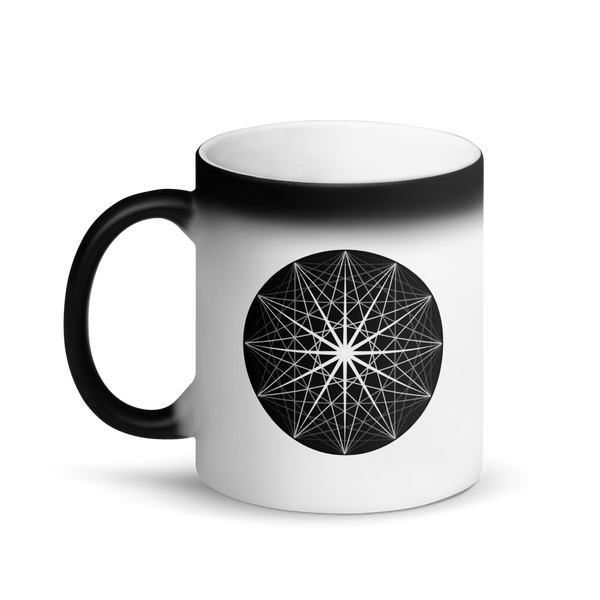 Magic Mug - Musical Sphere - *Color Changing* (white when Hot, black when Cold.)
