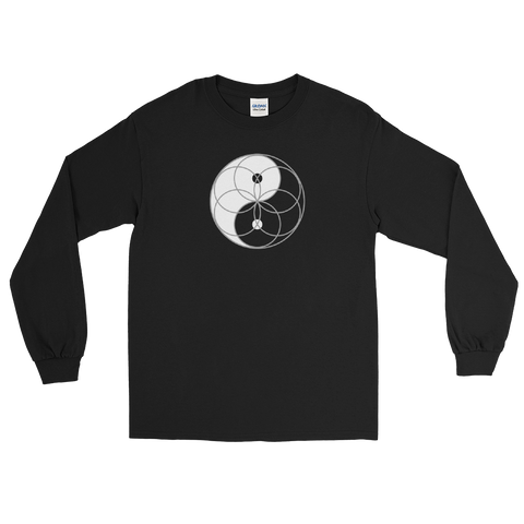 Seed of Life Yin Yang Long Sleeve (clockwise)
