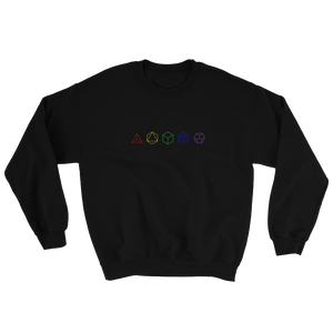 Platonic Solids Sweatshirt
