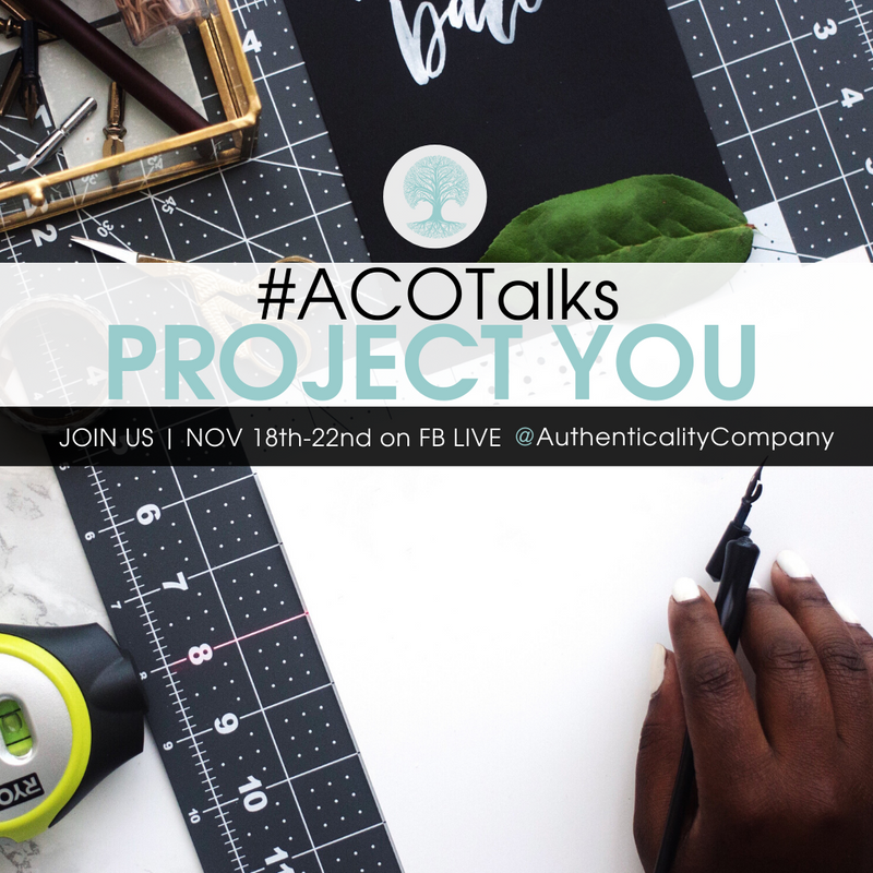 #ACOTalks Project YOU + GIVEAWAY!