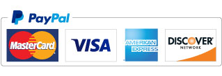 We process our payments securely through PayPal. We accept Visa, Mastercard, AMEX and Discover cards.