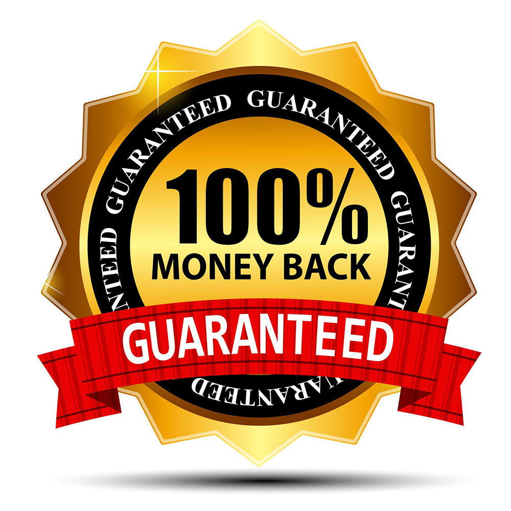 Money Back Guarantee with legendary suitjamas