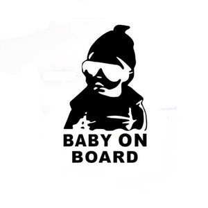 Baby On Board Cool Sticker