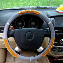 Load image into Gallery viewer, Leather Steering Wheel Cover