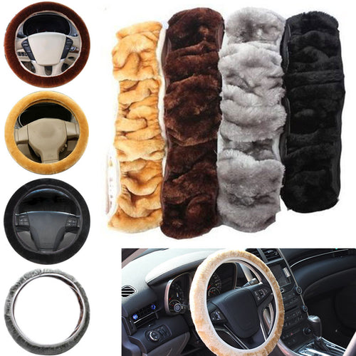 Soft & Elastic Steering Wheel Cover