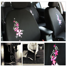 Load image into Gallery viewer, Flower Embroidery Car Seat Cover