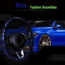 Load image into Gallery viewer, Snowflake Steering Wheel Cover