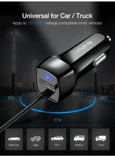 Load image into Gallery viewer, Phone Car Charger Micro USB Type