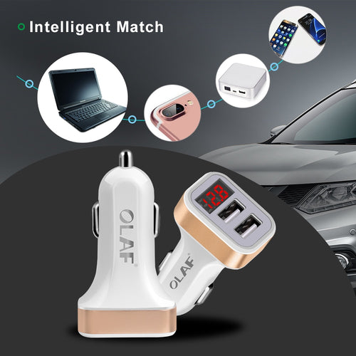 Car Charger Digital Display